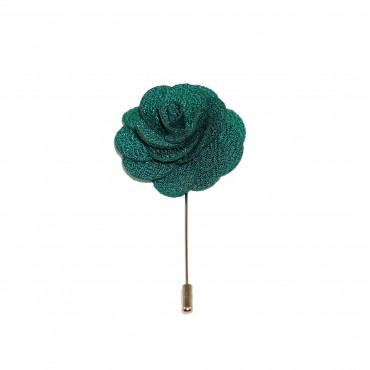 Hulk Green Floral Lapel Pin