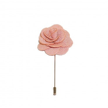 Pink Panther Floral Lapel Pin