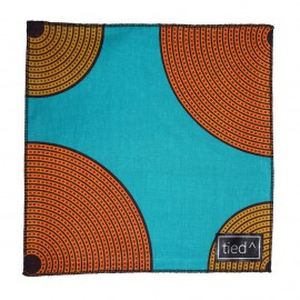 Suns and Sky Pocket Square