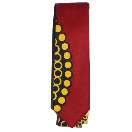 Reds and Lemons Slim Tie